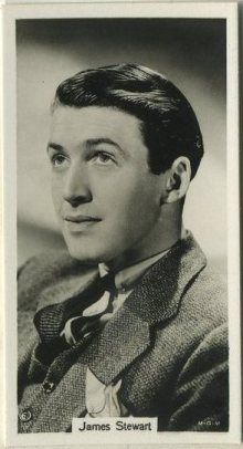 James Stewart 1939 RJ Lea Famous Film Stars