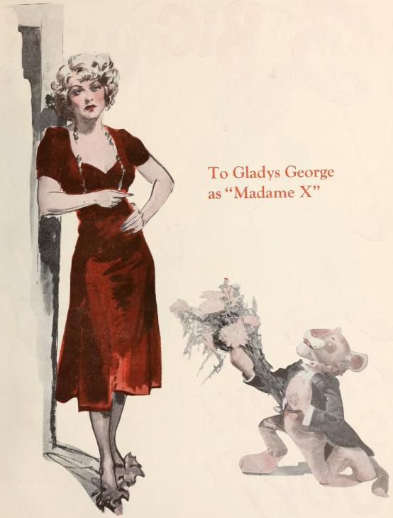 Madame X 1937 trade ad