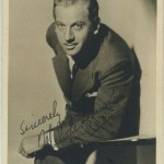 Melvyn Douglas 1930s Fan Photo