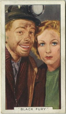 Paul Muni and Karen Morley 1936 Gallaher Film Episodes Tobacco Card