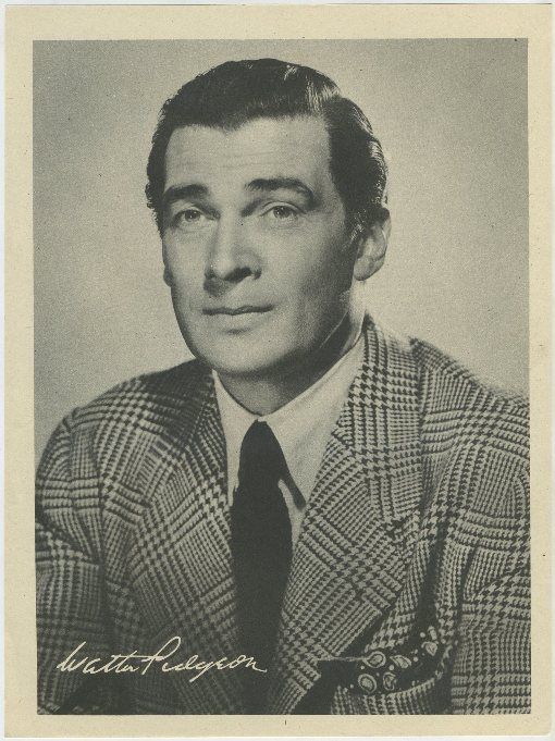 Walter Pidgeon 1946 Motion Picture Magazine Premium Photo