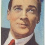 Walter Pidgeon 1951 Artisti Del Cinema Trading Card