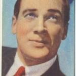 Walter Pidgeon 1951 Artisti Del Cinema Trading Card