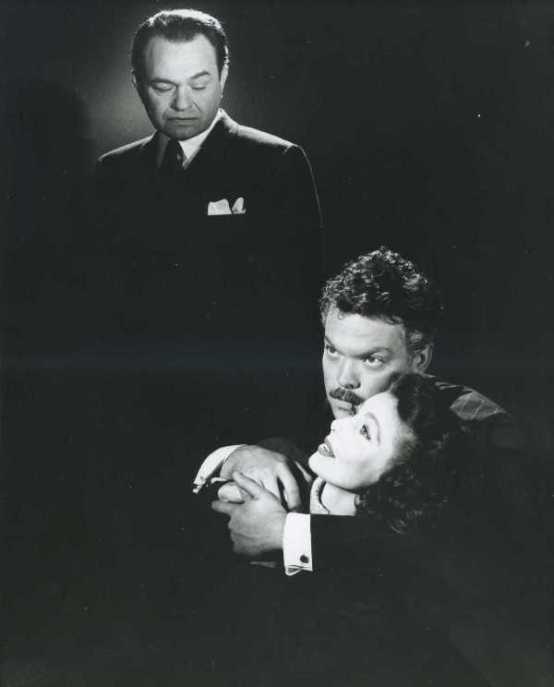 Edward G Robinson Orson Welles Loretta Young