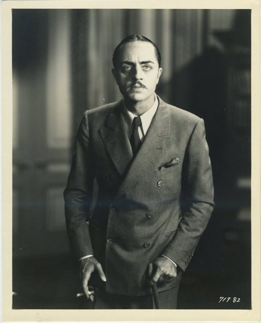William Powell circa 1930 Promotional Still Photo
