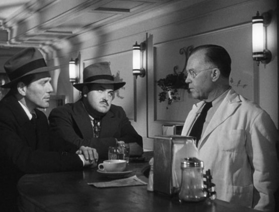 Charles McGraw and William Conrad
