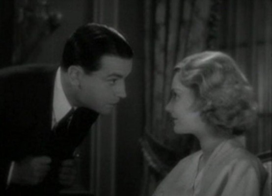 Richard Barthelmess and Helen Chandler