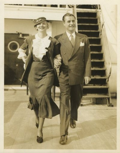 Virginia Bruce and John Gilbert MGM Publicity Portrait