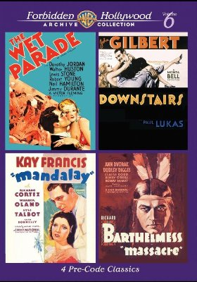 Warner Archive Forbidden Hollywood Volume 6