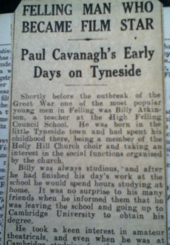 Paul Cavanagh Felling Man Article 1