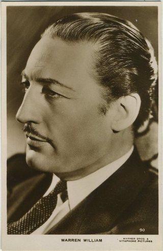 Warren William 1930s Real Photo Postcard