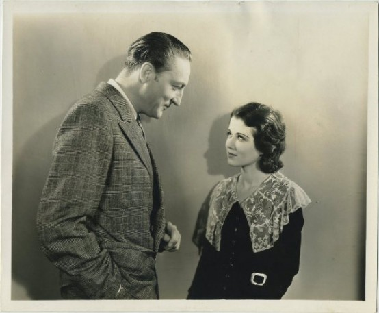 Warren William and Sidney Fox still photo