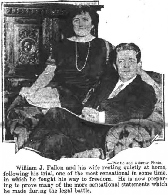 William J Fallon and wife