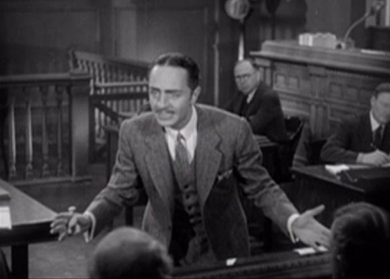 William Powell in For the Defense