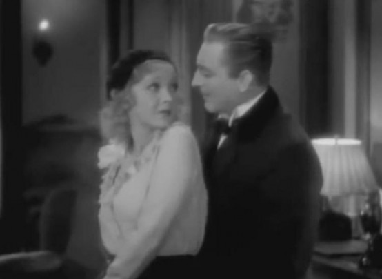 Helen Twelvetrees and John Barrymore