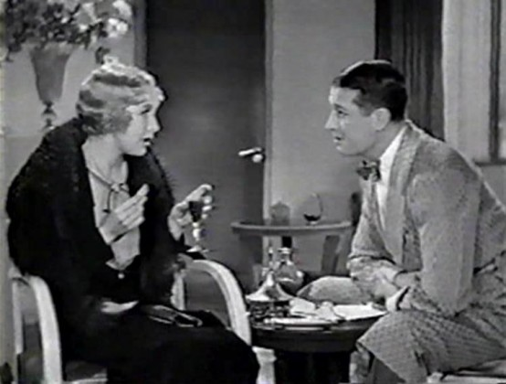 Helen Twelvetrees and Maurice Chevalier