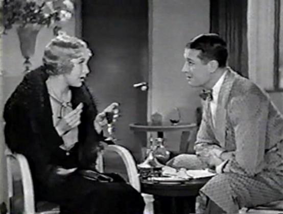 Helen Twelvetrees and Maurice Chevalier