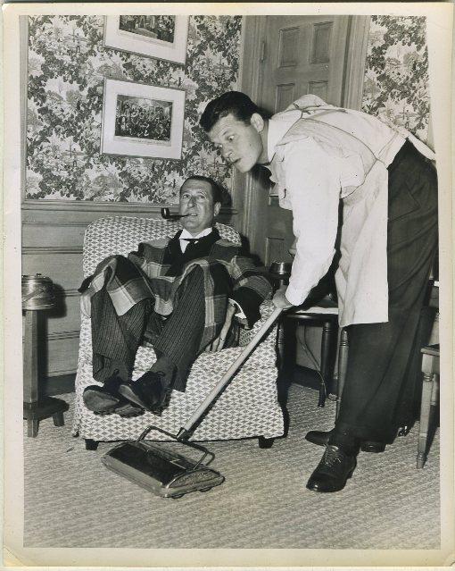 Arthur Treacher and Jack Carson