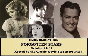 CMAB Forgotten Stars Blogathon