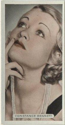 Constance Bennett 1934 Ardath Famous Film Stars