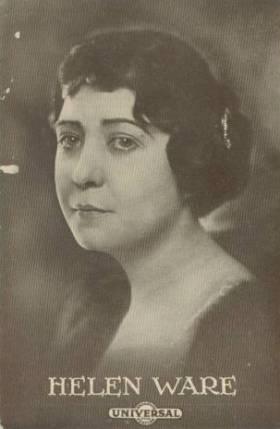 Helen Ware circa 1915 Universal Postcard