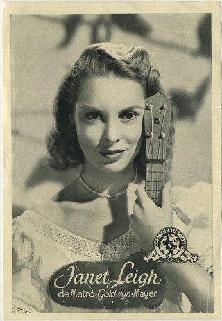 Janet Leigh 1950s Florita Screen Artists
