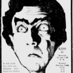 Murders in the Rue Morgue 1932 newspaper ad