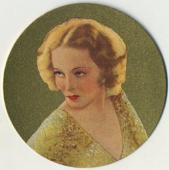 Sally Blane 1939 Rothmans Beauties of the Cinema