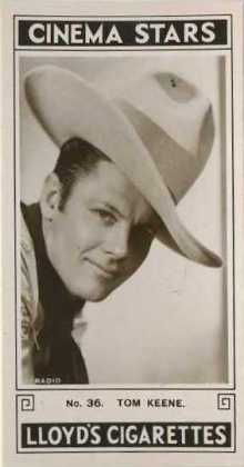 Tom Keene 1935 Lloyd Cinema Stars