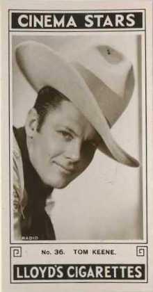 Tom Keene 1935 Lloyd Cinema Stars