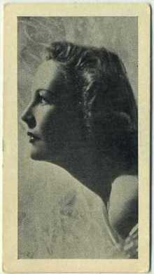 Wendy Barrie 1938 RJ Hill Famous Film Stars