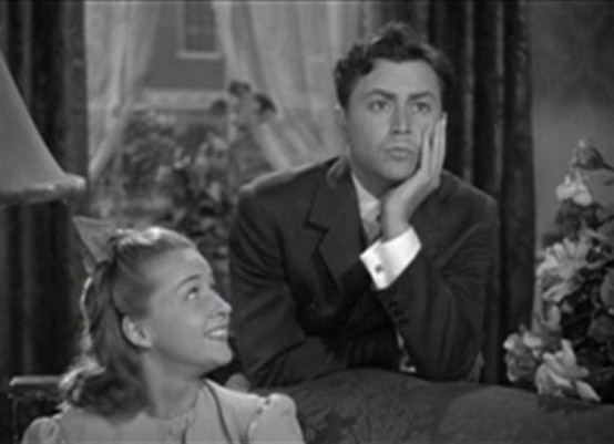 Robert Young and Bonita Granville