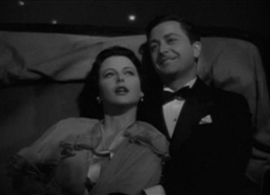 Hedy Lamarr and Robert Young