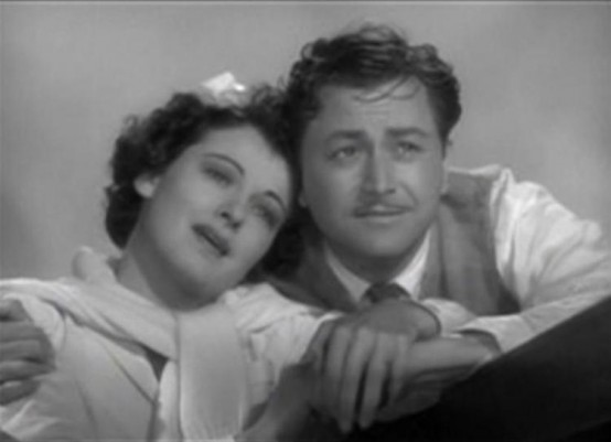 Ruth Hussey and Robert Young