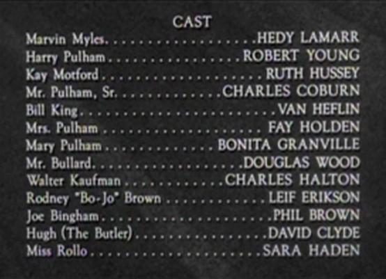 Cast of HM Pulham Esquire