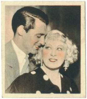 Cary Grant and Mae West 1934 Godfrey Phillips Shots from the Films