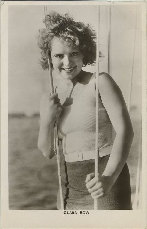 Clara Bow Real Photo Postcard