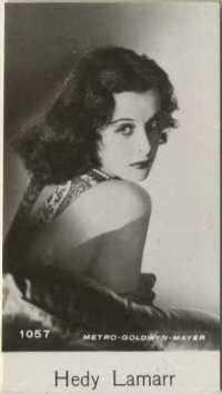 Hedy Lamarr 1940 De Beukelaer Film Stars