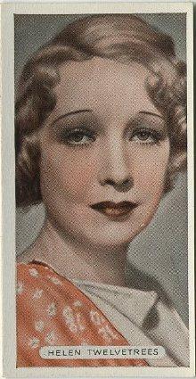 Helen Twelvetrees 1934 Ardath Famous Film Stars