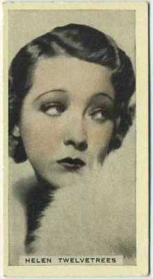 Helen Twelvetrees 1934 Godfrey Phillips Stage and Cinema Beauties