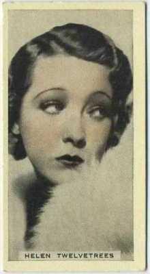 Helen Twelvetrees 1934 Godfrey Phillips Stage and Cinema Beauties
