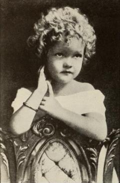 Helen Twelvetrees at age 3