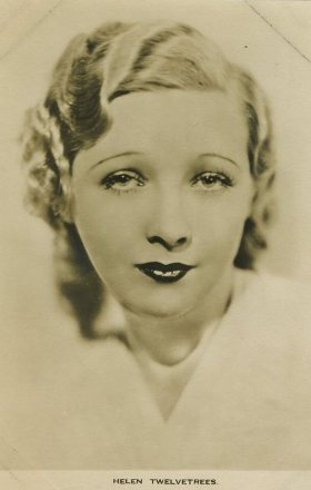 Helen Twelvetrees Film Weekly Postcard