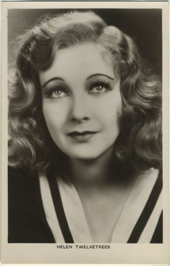Helen Twelvetrees Real Photo Postcard