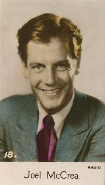Joel McCrea 1935 Bridgewater Film Stars