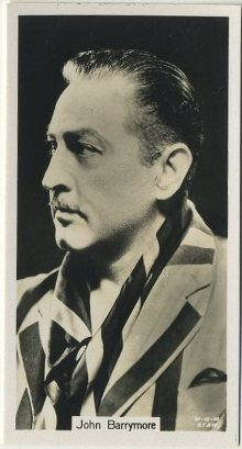 John Barrymore 1934 John Sinclair Film Stars