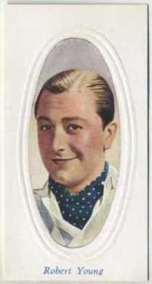 Robert Young 1936 Godfrey Phillips Screen Stars