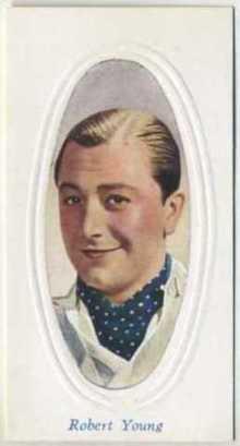Robert Young 1936 Godfrey Phillips Screen Stars