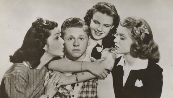 Love Finds Andy Hardy postcard