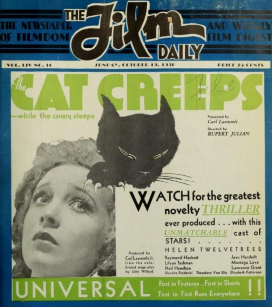 Helen Twelvetrees in The Cat Creeps 1930